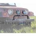 Steinjager Grill Guard with Light Bar, Lights NOT included, fits 1997-2006 Jeep Wrangler TJ