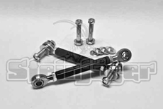 """Steinjager Rear Sway Bar End Links, 6"""" Lift, fits 1997-2006 Jeep Wrangler TJ"""