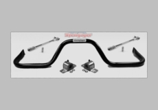 Steinjager Rear Sway Bar Kit, Stock Height, with Quick Disconnect End Links, fits 1997-2006 Jeep Wrangler TJ