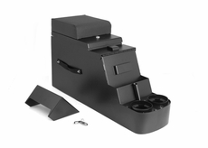 Stereo Security Console, Black, 76-95 Jeep CJ and Wrangler by Rugged Ridge