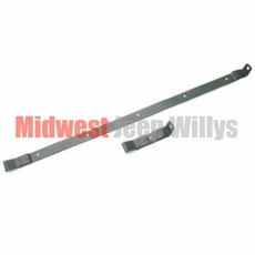 Gas Tank Strap Kit, 2 Kits Required, Fits 1941-1945 Willys Jeep MB and Ford GPW