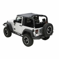 Summer Brief, Black Diamond, 10-17 Jeep Wrangler by Rugged Ridge
