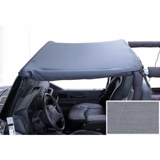 Summer Brief Top, 87-91 Jeep Wrangler, Gray by Rugged Ridge