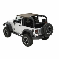 Summer Brief Top, Diamond Khaki, 10-17 Jeep Wrangler by Rugged Ridge