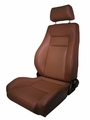 Ultra Front Seat, Reclinable, Spice, 76-02 Jeep CJ and Wrangler by Rugged Ridge