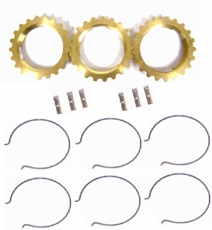 Synchronizer repair kit for T-15A transmissions