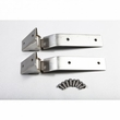 Tailgate Hinges, Stainless Steel, 87-95 Jeep Wrangler by Rugged Ridge