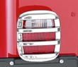 Tail Light Guards, Chrome, 76-06 Jeep CJ and Wrangler by Rugged Ridge