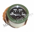 Temperature Gauge, (24 volt) Fits 1950-66 Jeep M38, M38A1