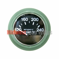 Temperature Gauge, 24 Volt for Dodge M37 Truck, 7728855