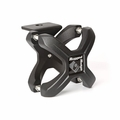 Textured Black X-Clamp, Single, 1.25-2.0 Inches by Rugged Ridge