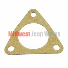 Thermostat Gasket, Water Outlet for L-134 4 Cylinder Engine, MB, CJ2A, CJ3A, M38 and Others