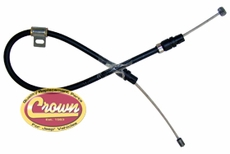 THROTTLE VALVE CABLE, 1999/04 WJ, WG (EUROPE) W/ 4.0L ENGINE