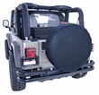 27-29 inch Tire Cover, Black by Rugged Ridge