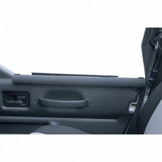 Half Door Arm Rests, Black, 87-06 Jeep Wrangler by Rugged Ridge