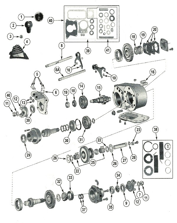 jeep dana 300 transfer case parts for 1980