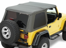 Trektop NX, Black Diamond, Bestop, Jeep Wrangler Unlimited (LJ) 2004-2006