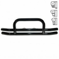 3-Inch Double Tube Front Bumper, 87-06 Jeep Wrangler by Rugged Ridge
