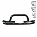 3-Inch Double Tube Front Winch Bumper, 76-06 Jeep CJ and Wrangler by Rugged Ridge