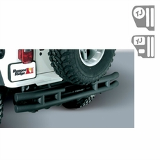 3-Inch Double Tube Rear Bumper, 55-86 Jeep CJ Models by Rugged Ridge
