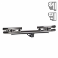3-Inch Rear Tube Bumper W/Hitch, 87-06 Jeep Wrangler by Rugged Ridge