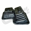 Transmission and Transfer Case Shifter Boot for 1980-1986 Jeep CJ w/ T176 Transmission, Dana 300 Transfer Case