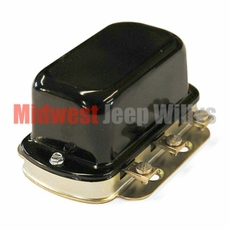 6 Volt Voltage Regulator, Fits 1945-1956 Jeep CJ's & Willys Truck, Station Wagon & FC Models