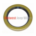 Front Wheel Hub Bearing Seal, Fits All 1941-1964 Jeep 4WD Vehicles with Dana 25 Front Axle
