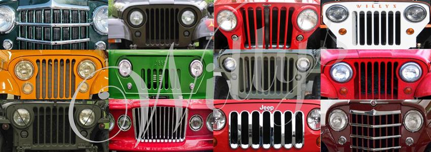 Willys Jeep Parts, Kaiser Willys Parts, Willys Parts in Stock