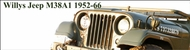 Willys Military M38A1 1952-1966