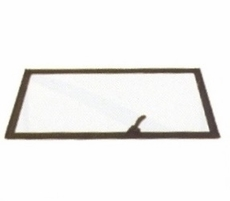 Windshield Glass and Frame Assembly, Left Side, M939 Series Truck, 12277069-1