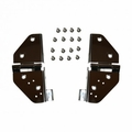 Windshield Hinges, Stainless Steel, 76-95 Jeep CJ and Wrangler by Rugged Ridge