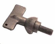 Windshield pivot thumbscrew, 1941-45 MB, GPW,  A-2473