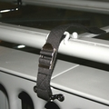 Windshield tie down strap, fits 1941-1975 MB, Ford GPW, CJ2A, CJ3A, M38A1, M38A1, CJ3B, CJ5 & CJ6
