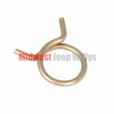 Wire Heater Hose Clamp fits 1957-71 Willys Jeep CJ, Pick-Up, & Station Wagon