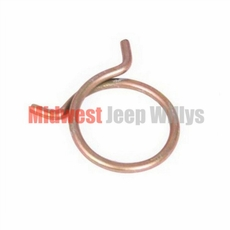 Wire Radiator Hose Clamp fits 1957-71 Willys Jeep CJ, Pick-Up, & Station Wagon