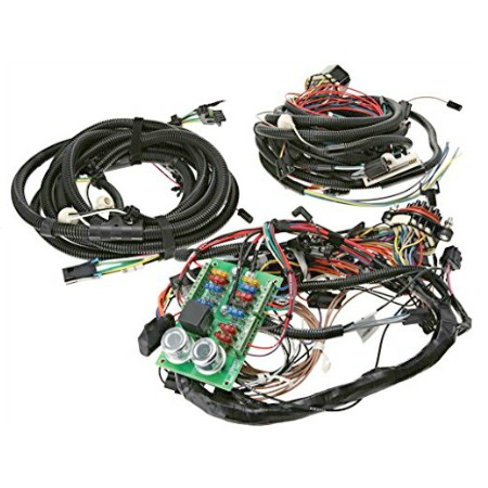 centech heavy duty wiring harness for 1976 1986 jeep cj5 cj7 cj8 rh midwestjeepwillys com jeep wiring harness for hitch 98 cherokee jeep wiring harness issues