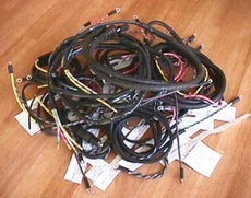 Wiring harness kit MB-GPW ( No Trailer Socket or B.O. Driving Light,, has Push Pull Headlight Switch )
