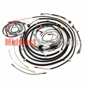 Complete Cloth Covered Wiring Harness Kit for 1953-1956 Willys Jeep CJ3B Models