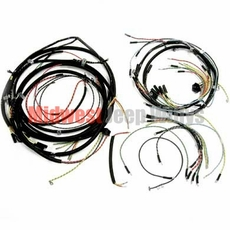Wiring Harness Kit, Horn on Fender, with Turn Signals, Fits Late 1946-1949 Jeep CJ2A