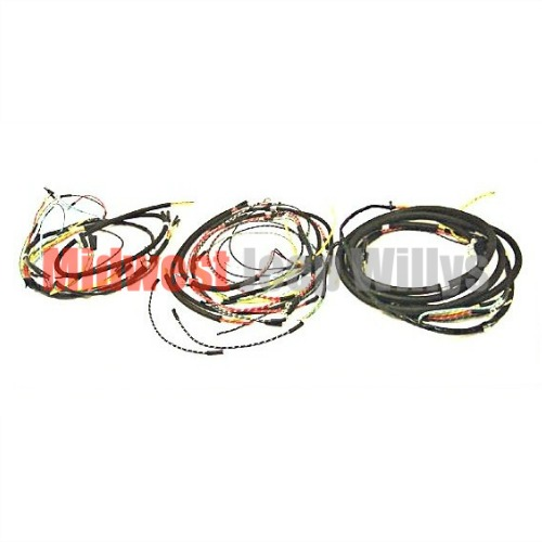 jeep part 641949t wiring harness kit with turn signal wiring horn rh midwestjeepwillys com