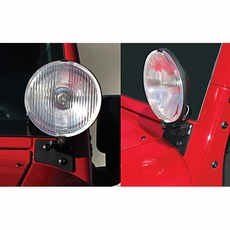 Wrangler JK Light Brackets