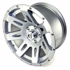 XHD Aluminum Wheel, Silver, 17 inch X 9 inches by Rugged Ridge