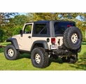 XHD Replacement Top, Black Diamond, 07-09 Jeep Wrangler by Rugged Ridge