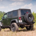 XHD Soft Top, Black Diamond, 07-09 Jeep Wrangler Unlimited by Rugged Ridge
