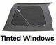 XHD Soft Top, Khaki, Tinted Window, 97-06 Jeep Wrangler by Rugged Ridge