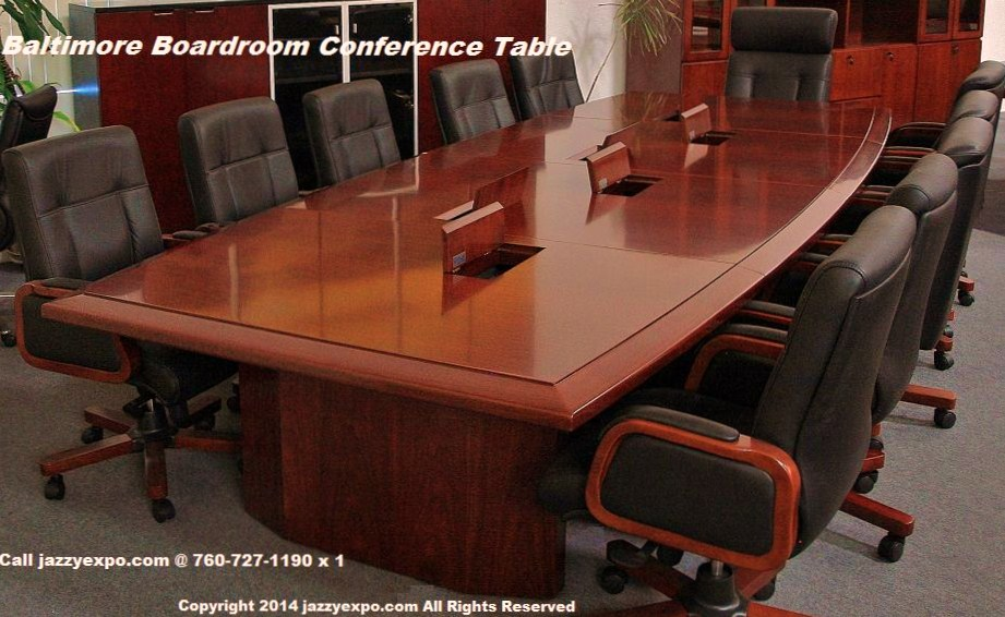 Boardroom conference table baltimore model for 12 foot conference room table