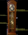 Animatronic 13th Hour Grandfather Clock Halloween Prop Decoration