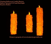 Floating Blacklight Candle Great Hall Harry Potter Decoration Illusion