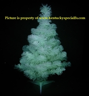 Glow in the Dark Christmas Tree Decoration Pure White Glowing X-mas Version